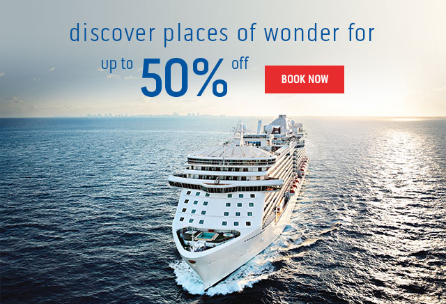 discover places of wonder for up to 50% off! Book now.