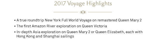 2017 Voyage Highlights